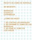 ZUMO DE NARANJA DE ED INFANTIL 5NIVEL_0