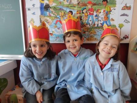 Sara, Gabriel y Carlota